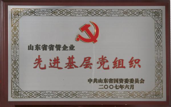 山东省省管企业先进基层党组织